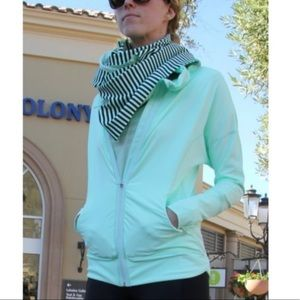 Lululemon | Pump It Up Jacket Mint Green